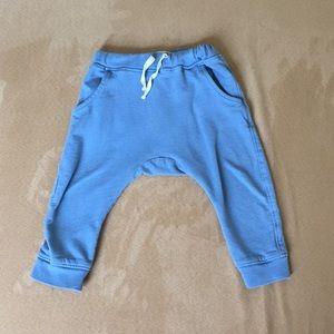 Les Gamins blue joggers
